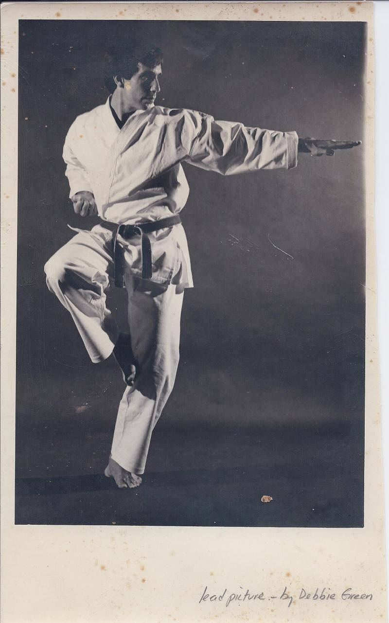 Picture donated by David Krieger Sensei (circa 1975)